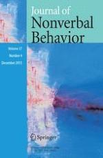 Journal of Nonverbal Behavior 4/2013
