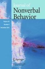 Journal of Nonverbal Behavior 4/2016