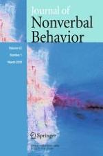 Journal of Nonverbal Behavior 1/2018