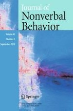 Journal of Nonverbal Behavior 3/2018