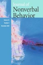 Journal of Nonverbal Behavior 4/2020