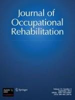 Journal of Occupational Rehabilitation 1/2003