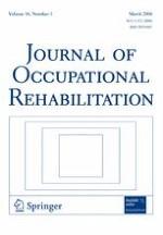 Journal of Occupational Rehabilitation 1/2006