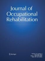 Journal of Occupational Rehabilitation 4/2014