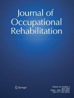 Journal of Occupational Rehabilitation 2/2016