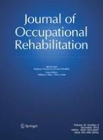 Journal of Occupational Rehabilitation 4/2016