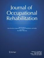 Journal of Occupational Rehabilitation 4/2017