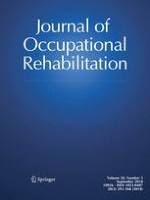 Journal of Occupational Rehabilitation 3/2018