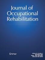 Journal of Occupational Rehabilitation 4/2019