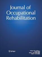 Journal of Occupational Rehabilitation 1/2020