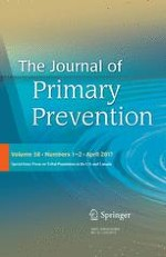 The Journal of Primary Prevention 1-2/2017