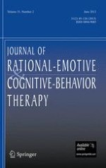 Journal of Rational-Emotive & Cognitive-Behavior Therapy 4/2001
