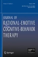 Journal of Rational-Emotive & Cognitive-Behavior Therapy 2/2005