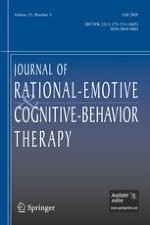 Journal of Rational-Emotive & Cognitive-Behavior Therapy 3/2005