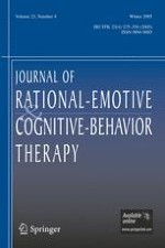 Journal of Rational-Emotive & Cognitive-Behavior Therapy 4/2005
