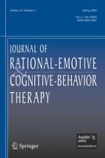 Journal of Rational-Emotive & Cognitive-Behavior Therapy 1/2006