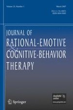 Journal of Rational-Emotive & Cognitive-Behavior Therapy 1/2007