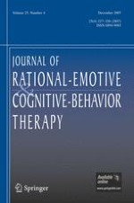 Journal of Rational-Emotive & Cognitive-Behavior Therapy 4/2007
