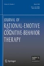 Journal of Rational-Emotive & Cognitive-Behavior Therapy 1/2008