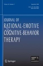 Journal of Rational-Emotive & Cognitive-Behavior Therapy 3/2008