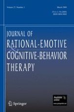 Journal of Rational-Emotive & Cognitive-Behavior Therapy 1/2009