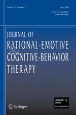 Journal of Rational-Emotive & Cognitive-Behavior Therapy 2/2009