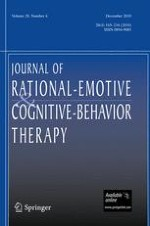 Journal of Rational-Emotive & Cognitive-Behavior Therapy 4/2010