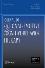 Journal of Rational-Emotive & Cognitive-Behavior Therapy 1/2011