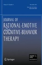 Journal of Rational-Emotive & Cognitive-Behavior Therapy 4/2011