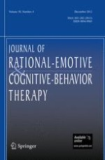 Journal of Rational-Emotive & Cognitive-Behavior Therapy 4/2012