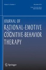 Journal of Rational-Emotive & Cognitive-Behavior Therapy 4/2013