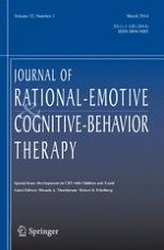 Journal of Rational-Emotive & Cognitive-Behavior Therapy 1/2014