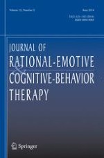 Journal of Rational-Emotive & Cognitive-Behavior Therapy 2/2014