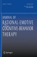 Journal of Rational-Emotive & Cognitive-Behavior Therapy 4/2014
