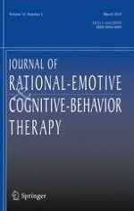 Journal of Rational-Emotive & Cognitive-Behavior Therapy 1/2015