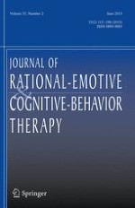 Journal of Rational-Emotive & Cognitive-Behavior Therapy 2/2015