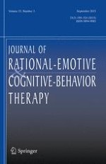 Journal of Rational-Emotive & Cognitive-Behavior Therapy 3/2015