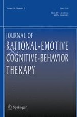 Journal of Rational-Emotive & Cognitive-Behavior Therapy 2/2016