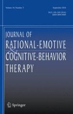 Journal of Rational-Emotive & Cognitive-Behavior Therapy 3/2016