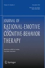 Journal of Rational-Emotive & Cognitive-Behavior Therapy 4/2016
