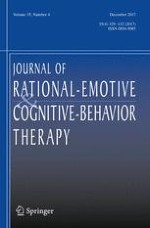 Journal of Rational-Emotive & Cognitive-Behavior Therapy 4/2017
