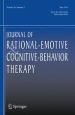 Journal of Rational-Emotive & Cognitive-Behavior Therapy 2/2018