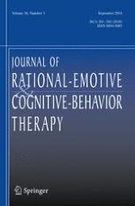 Journal of Rational-Emotive & Cognitive-Behavior Therapy 3/2018