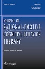 Journal of Rational-Emotive & Cognitive-Behavior Therapy 1/2019