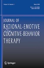 Journal of Rational-Emotive & Cognitive-Behavior Therapy 1/2020