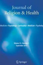 Journal of Religion and Health 3/2001