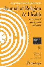 Journal of Religion and Health 2/2007