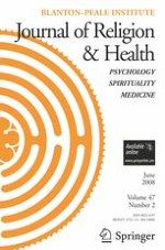 Journal of Religion and Health 2/2008