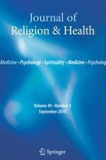 Journal of Religion and Health 3/2010