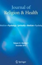 Journal of Religion and Health 4/2013